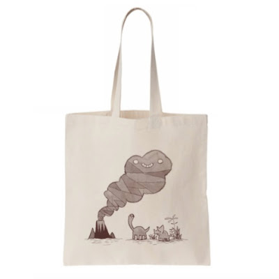 San Diego Comic-Con 2018 Exclusive Volcano Cloud Tote Bag by Scott C.