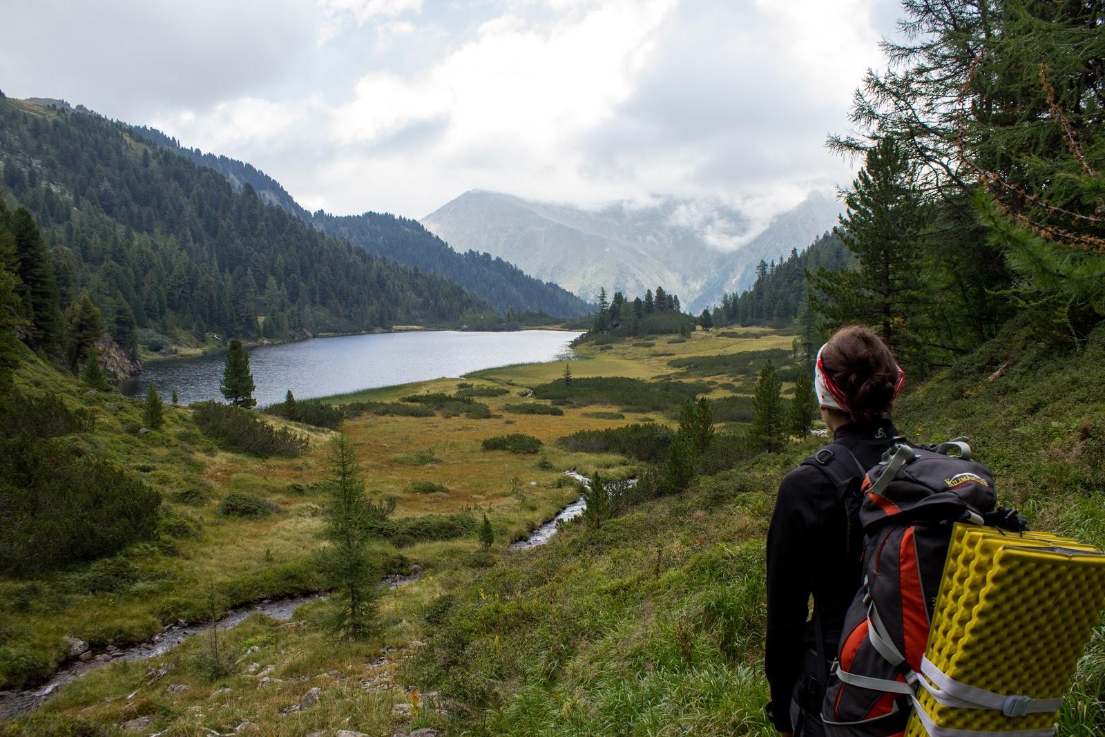Wanderung von der Sölkpaß-Straße zum Schöderer Eisenhut über die Zwieflerseen - Unterer Zwieflersee