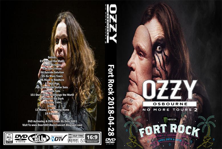 Deer5001RockCocert : Ozzy Osbourne - 2018-04-28 - Fort Rock