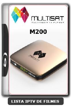 Multisat M200 Nova Atualização Ajustes no SKS 61w HD ON V2.61 - 09-06-2020