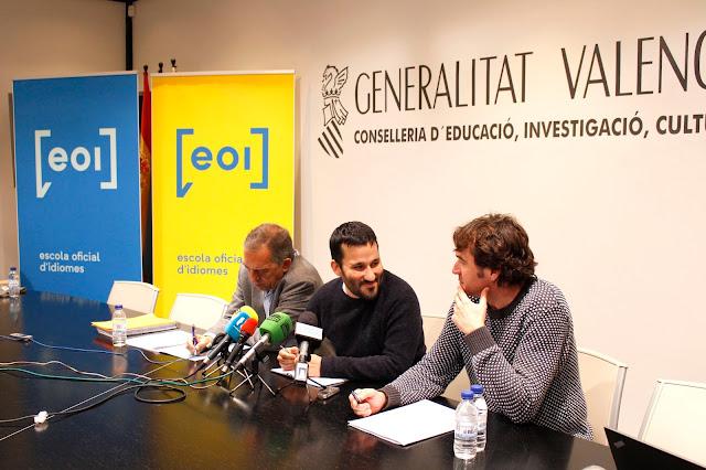 Siete escuelas oficiales de idiomas más para el curso 2018-2019 en la Comunitat Valenciana