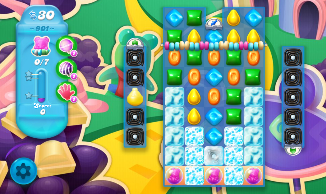 Candy Crush Soda Saga 901