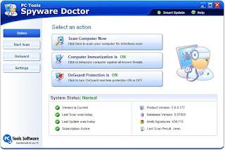 تنزيل برنامج مضاد الفيروسات Spyware Doctor