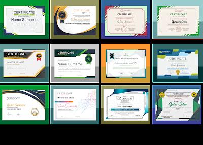 Piagam/Sertifikat Penghargaan CDR desain sertifikat kosong cdr  desain sertifikat cdr gratis  download piagam penghargaan format word  download kumpulan template sertifikat keren versi cdr  sertifikat format cdr  bingkai piagam penghargaan terbaik format coreldraw  contoh sertifikat penghargaan  desain sertifikat word