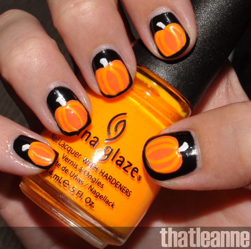 thatleanne: OPI Spookettes Halloween 2011 and Jack o ...