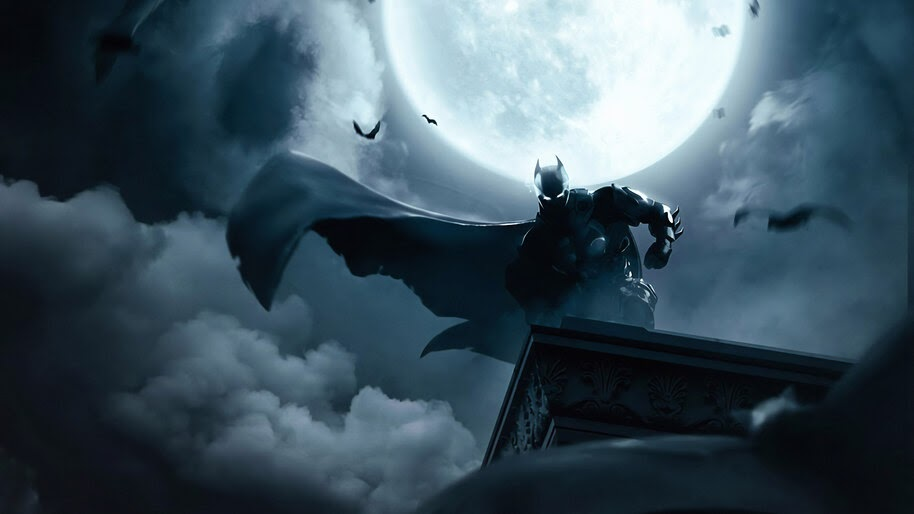 Batman, Dark, Night, 4K, #4.2196 Wallpaper