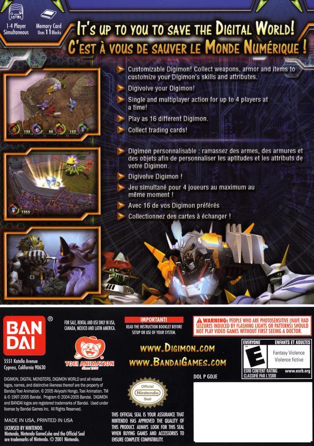 digimon world 4 gamecube