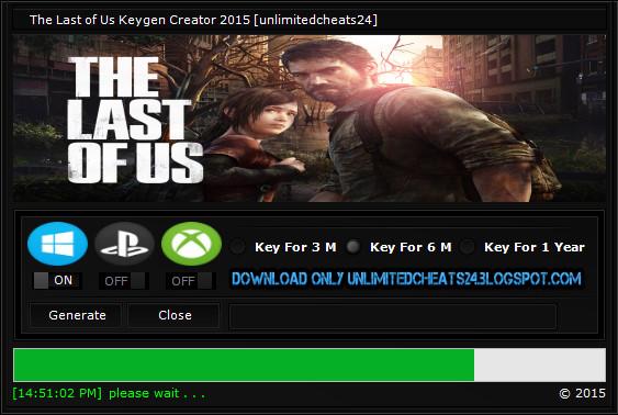 cd key the last of us pc