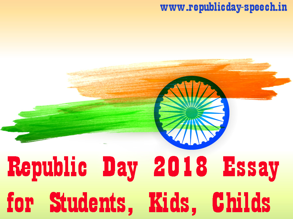 Essay on republic day