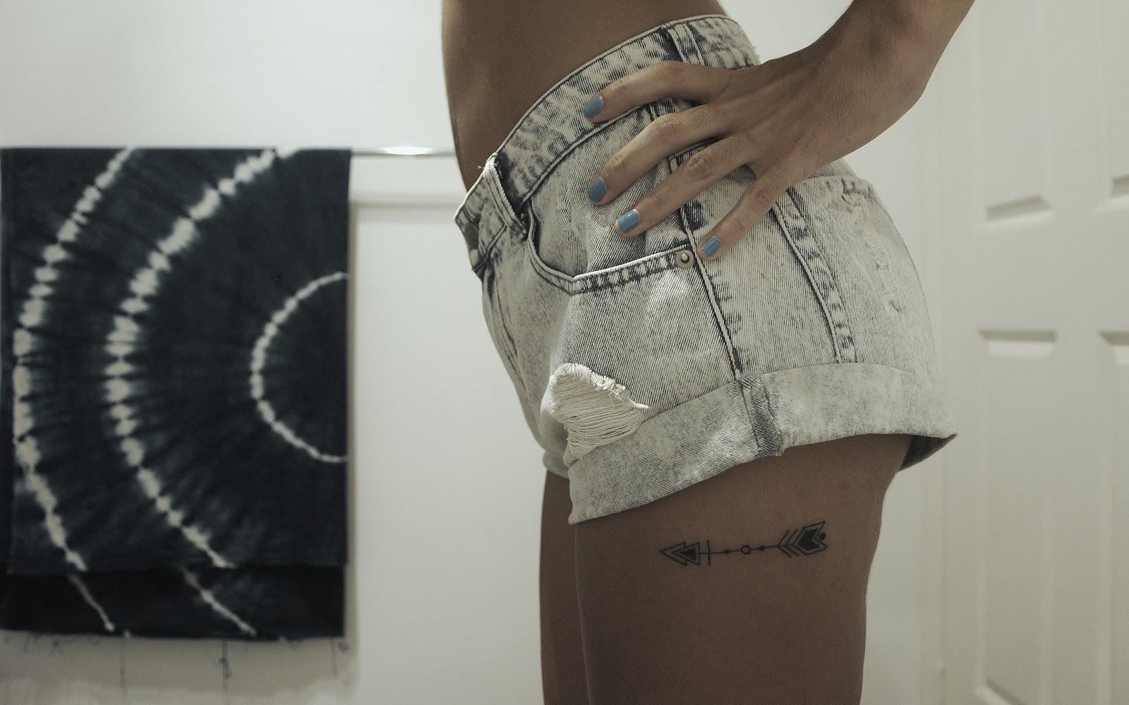 arrow tattoo. Black Bedroom Furniture Sets. Home Design Ideas