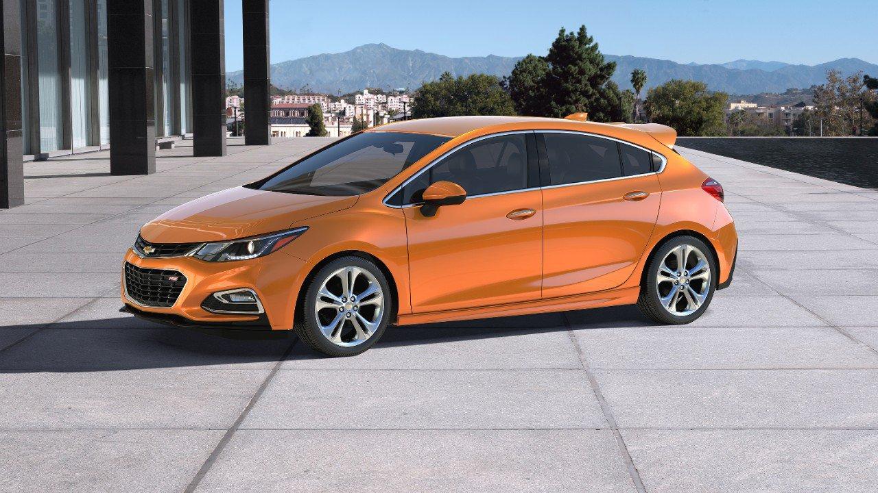 Chevrolet Cruze Hatchback hứa hẹn sẽ mang làn gió mới trong thị trường hatchback tầm trung