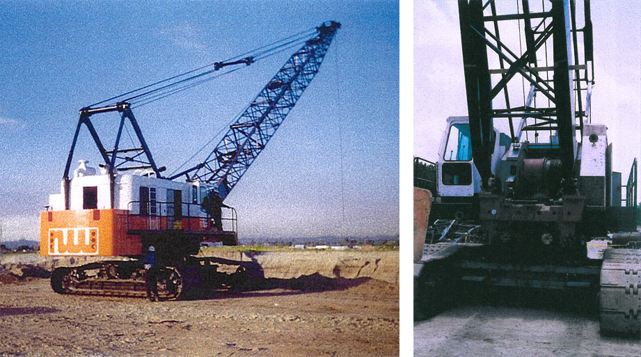 Iron profile northwest 190d dragline classic for Northwest construction