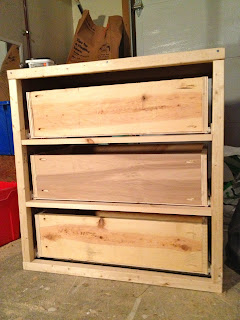 diy dresser with drawers