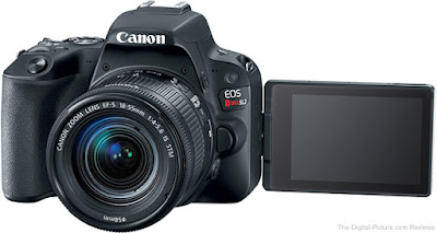 Canon EOS Rebel SL2, Nouvelle caméra DSLR, nouvelle caméra Canon, critique Canon, YouTubers, Vloggers, vidéaste, cinéastes