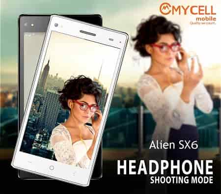 Mycell Alien SX6 Smartphone