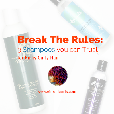 Break the Rules: 3 Shampoos your kinky curly hair can trust