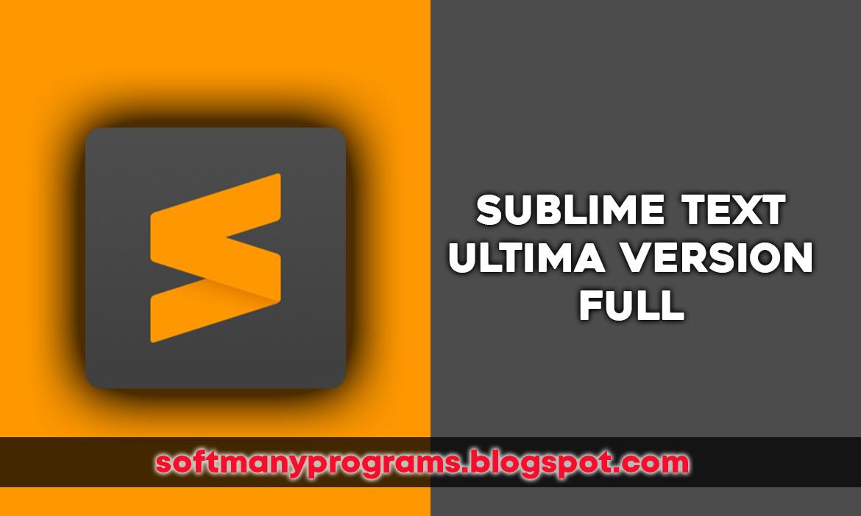 descargar sublime text 3