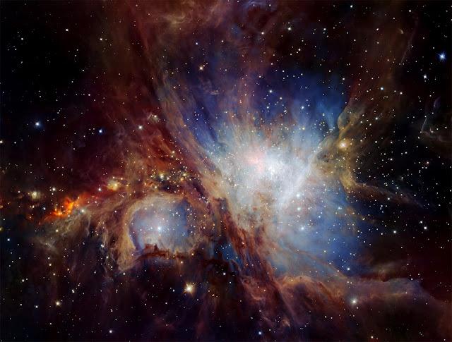 Nebulosa de Orion - infravermelho
