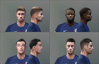 PES 6 Facepack Chelsea FC 2018/2019 by Don_rxf