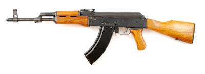 AK-47, sigla da denominação russa