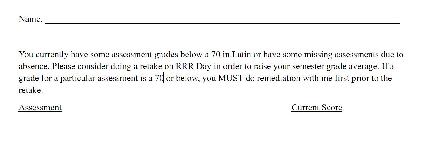 Todally Comprehensible Latin: 2018