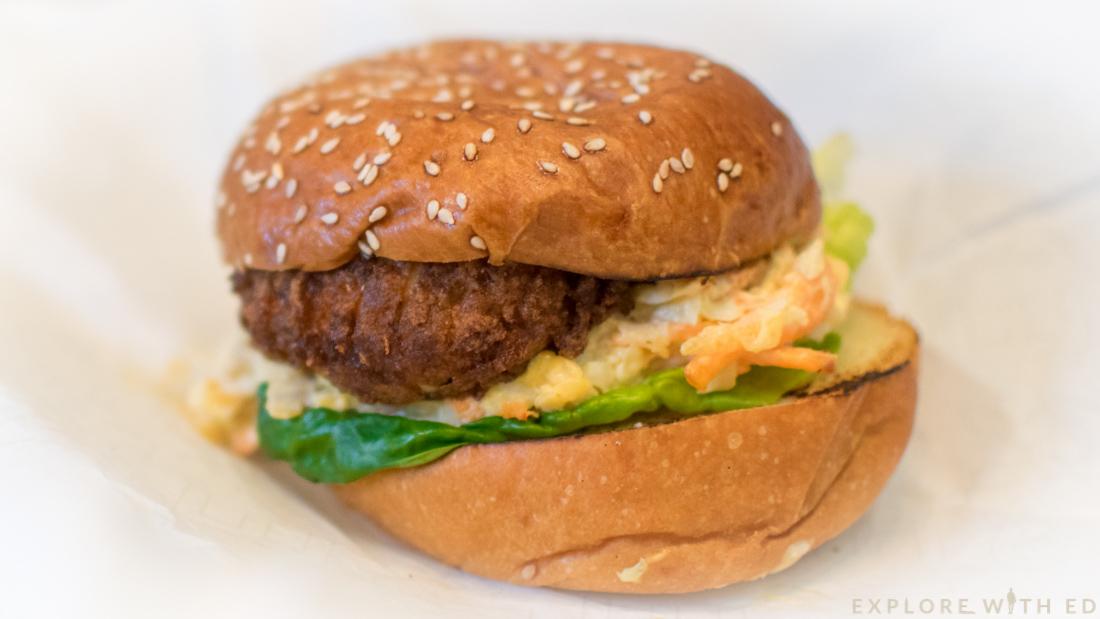 Locke & Remedy Chicken Burger