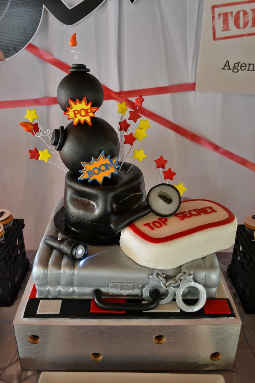 Partylicious Events Pr Secret Agent Birthday