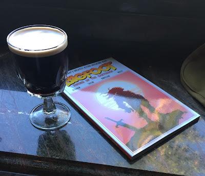 bigfoot comics and beer bigfoot sword of the earthman bigfoot comic trade paperback action lab comics bigfoot sasquatch barbarian comic