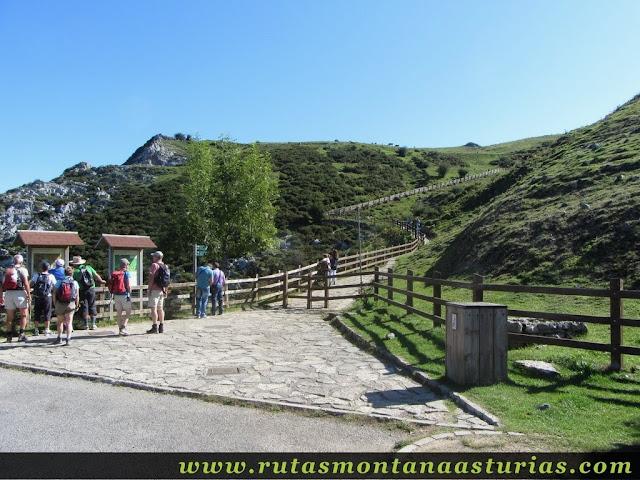 Ruta Lagos de Covadonga PR PNPE-2: Aparcamiento Buferrera