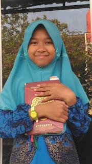 Selain Hafal 3 Juz, Zafira Kecil Terbitkan Buku Sendiri