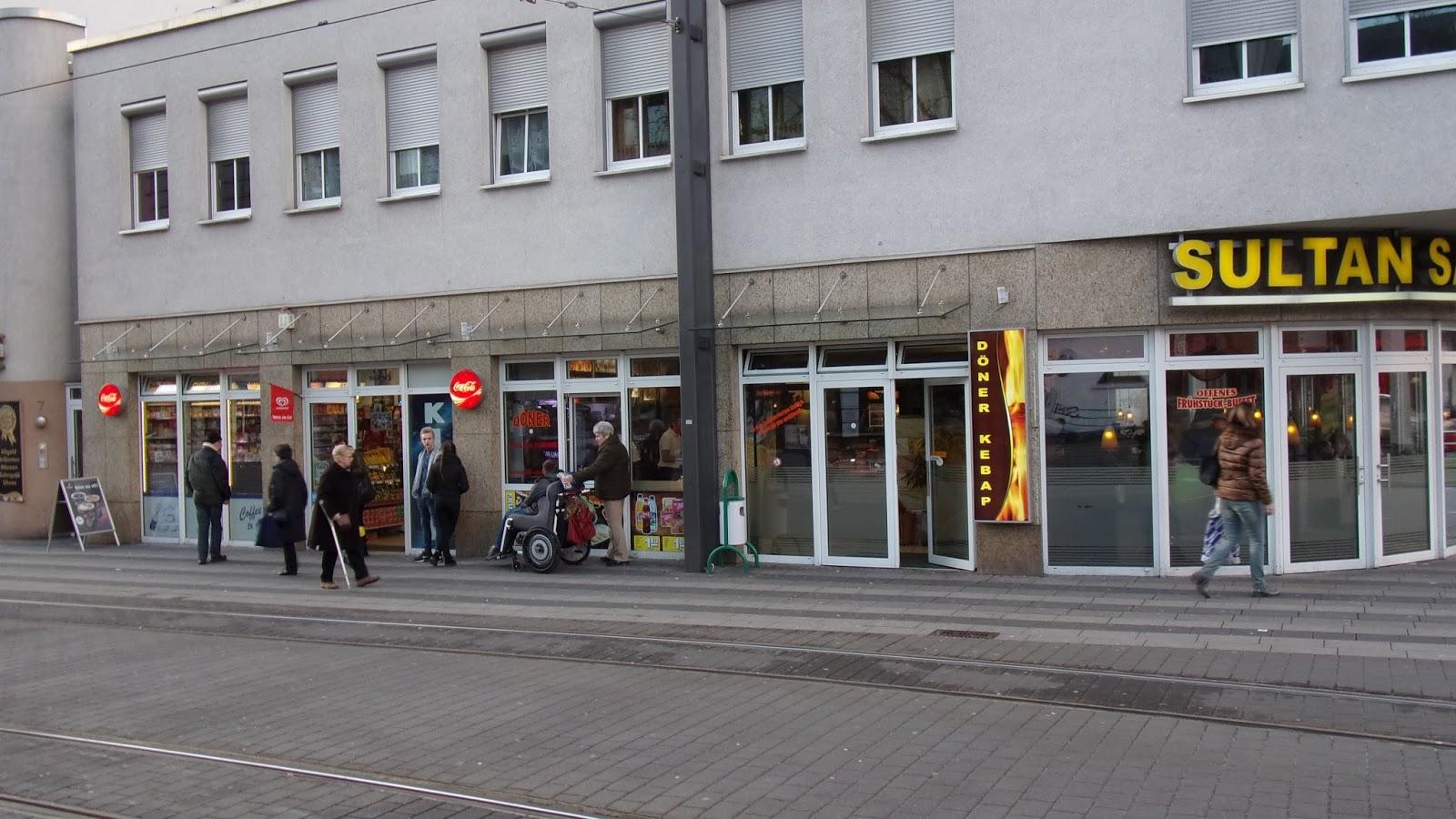Mit dem Fahrrad durch das Ruhrgebiet: Döner vom Sultan