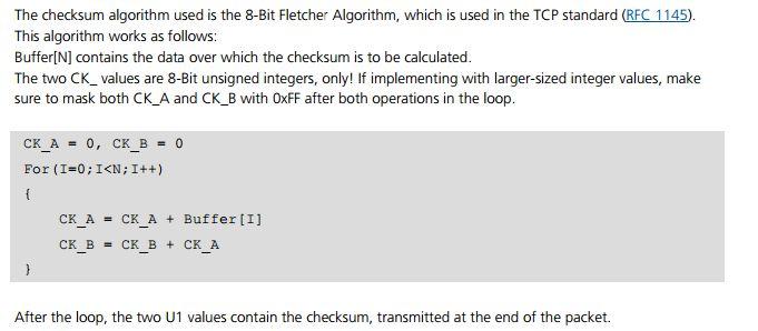 Debian su hardware obsoleto: Checksum di stringhe NMEA e pacchetti UBX