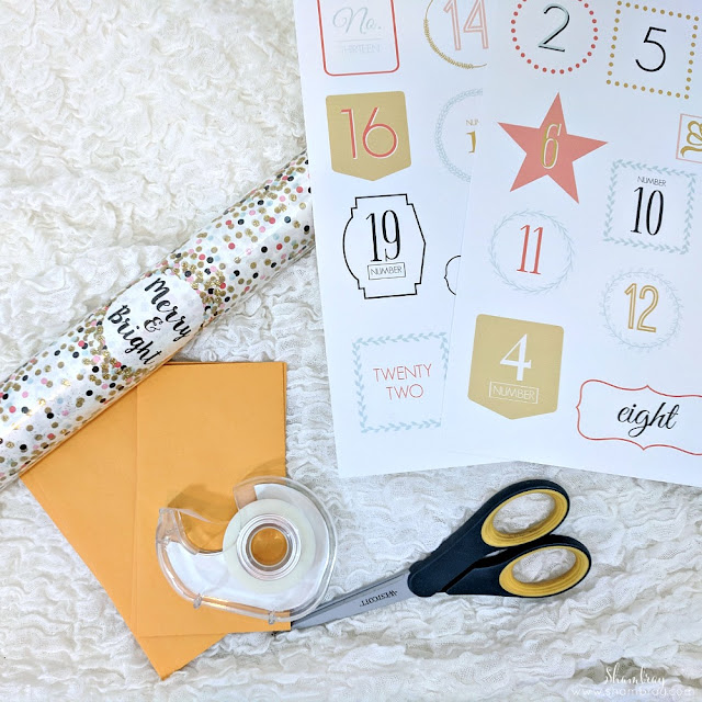 Christmas Countdown Idea that is Simple & Fun