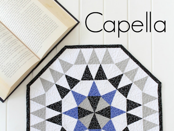 Capella Mini Quilt + Your Free April Calendar