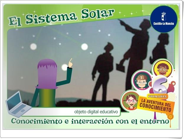 """""""El Sistema Solar"""" (Aplicación interactiva de Ciencias Sociales de Primaria)"""
