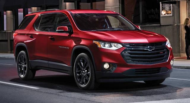 Chevrolet, Chevrolet Traverse, GM, Reports, SUV, USA