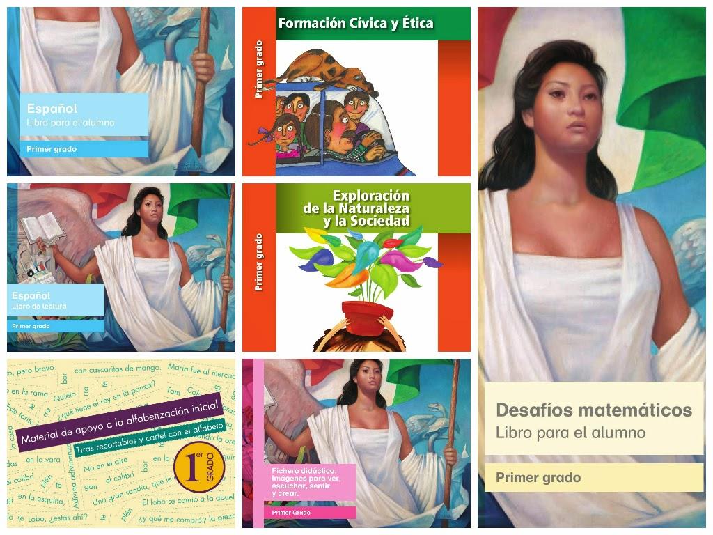 Libros De Texto Digitalizados Para Primer Grado Primaria