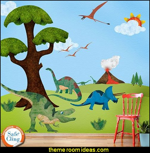 Dinosaur Wall Sticker Kit