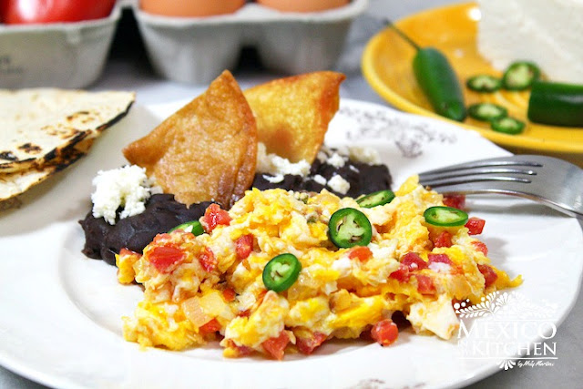 ... Huevos a la Mexicana |Authentic Mexican Food Recipes Traditional Blog