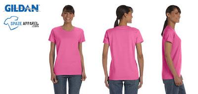 Gildan G500L Heavy Cotton Ladies Missy Fit T-Shirt