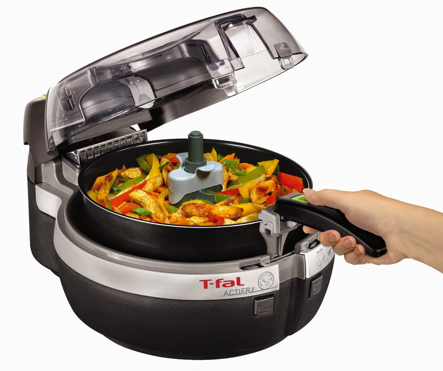 T-fal FZ700251 ActiFry Low-Fat Healthy Multi-Cooker, review, for healthy low fat cooking of meats, fish, fries, vegetables, stir-fry, risotto and even desserts