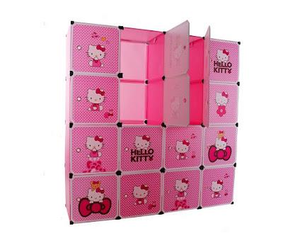 Trang tri phong ngu Hello Kitty dep 23