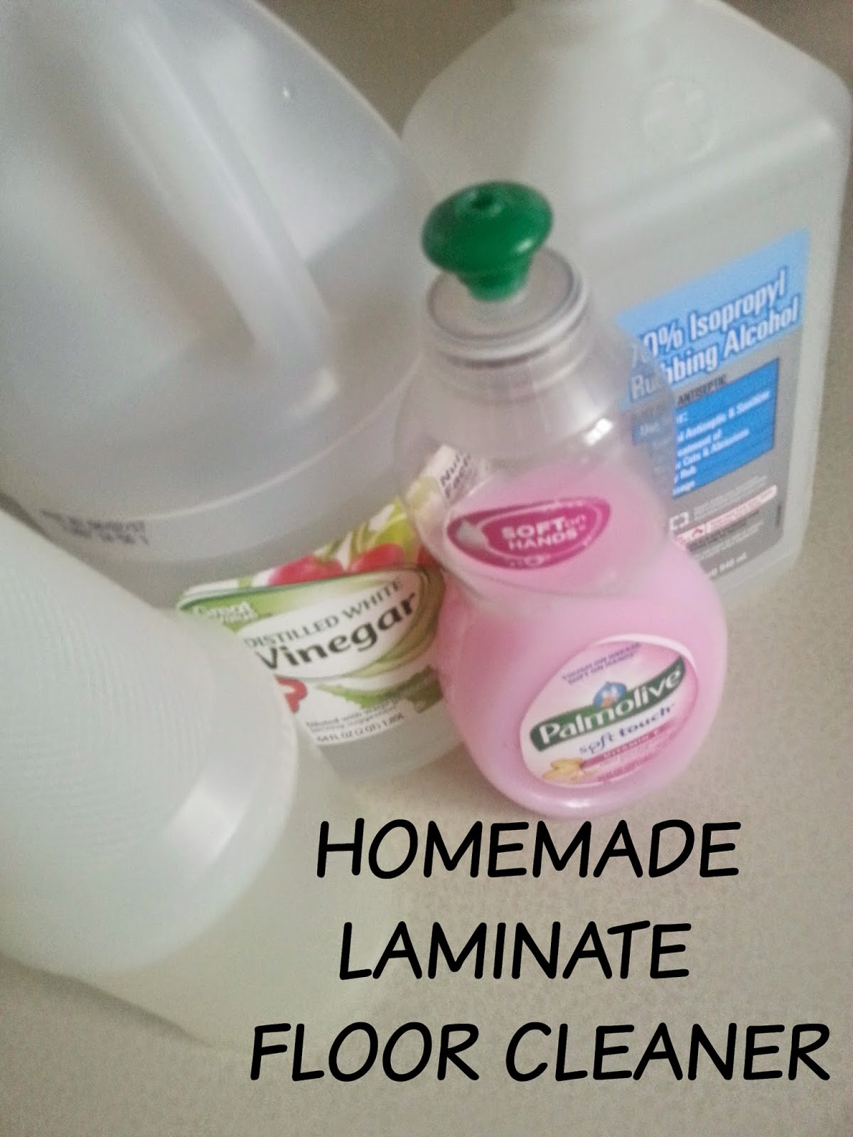 The Better Baker Homemade Laminate Floor Cleaner