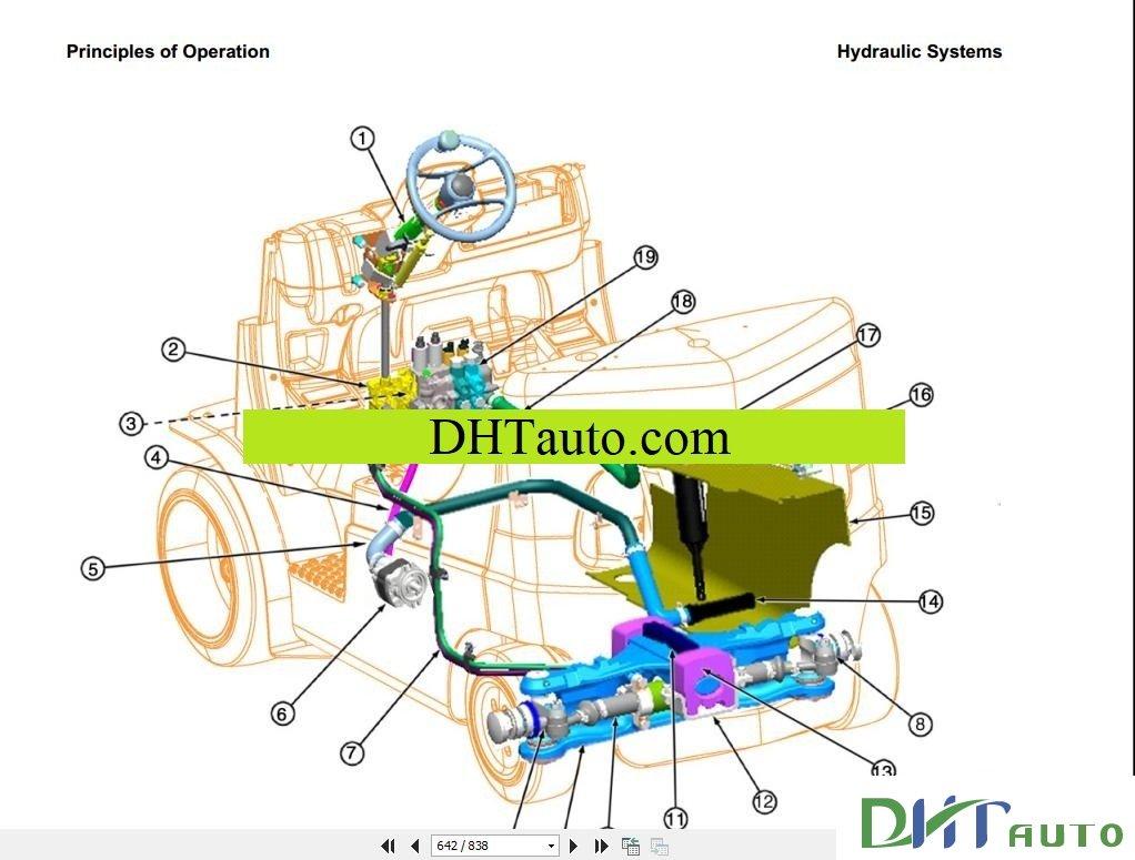 Hyster Wiring Schematics Detailed Diagram 642 Bobcat Forklift 1990 Residential Electrical Schematic