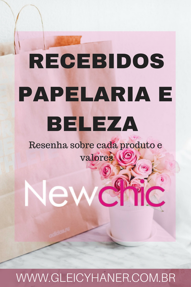 recebidos da china newchic