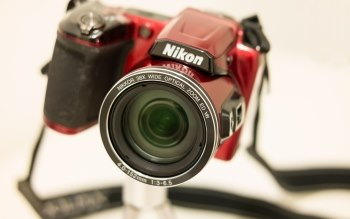 Wallpaper: Nikon Camera with Nikkor Lens