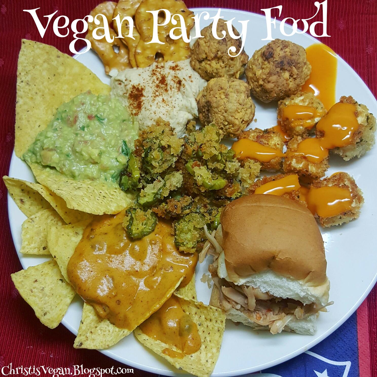 Christi's Vegan Life: Vegan Party Food