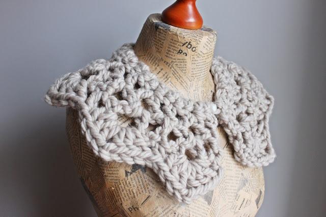 Giant Crochet Collar