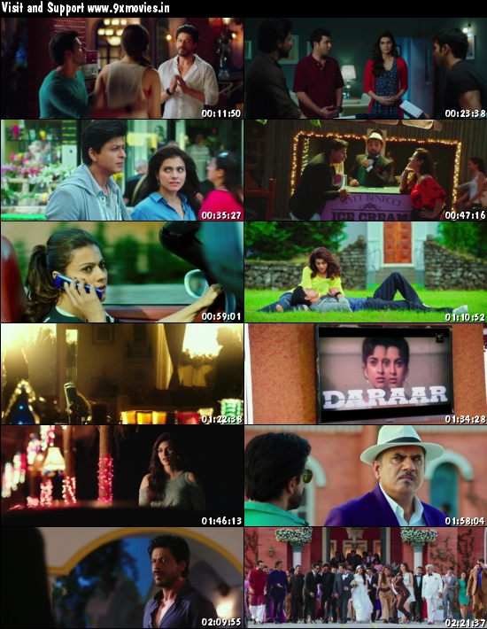 Dilwale 2015 Hindi 720p WEB HDRip