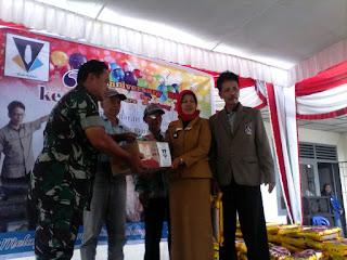 BKAD Mutiara Beri Bantuan Sembako kepada Lansia